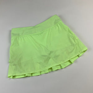 Ivivva Set The Pace Skort Yellow Size 14